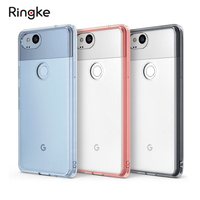 Ringke Fusion Google Pixel 2 2XL Case Clear Back Hard Panel Soft Bumper Hybrid Cases For