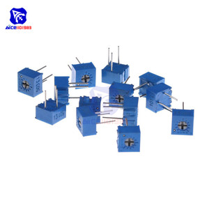 13 Waarden 130 Pcs 3362P Trimmer Potentiometer Variabele Weerstand 100R 200R 500R 1K 2K 5K 10K 20K 50K 100K 200K 500K 1M Ohm Trimpot
