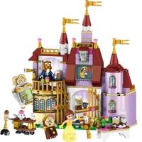 37001 Beauty And The Beast Princess Belle S Enchanted Castle Building Blocks Set Girl Friends Kids