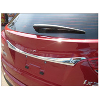 ABS Chrome Rear Trunk Lid Cover Trim(A style) For 2010 2012 Hyundai ix35