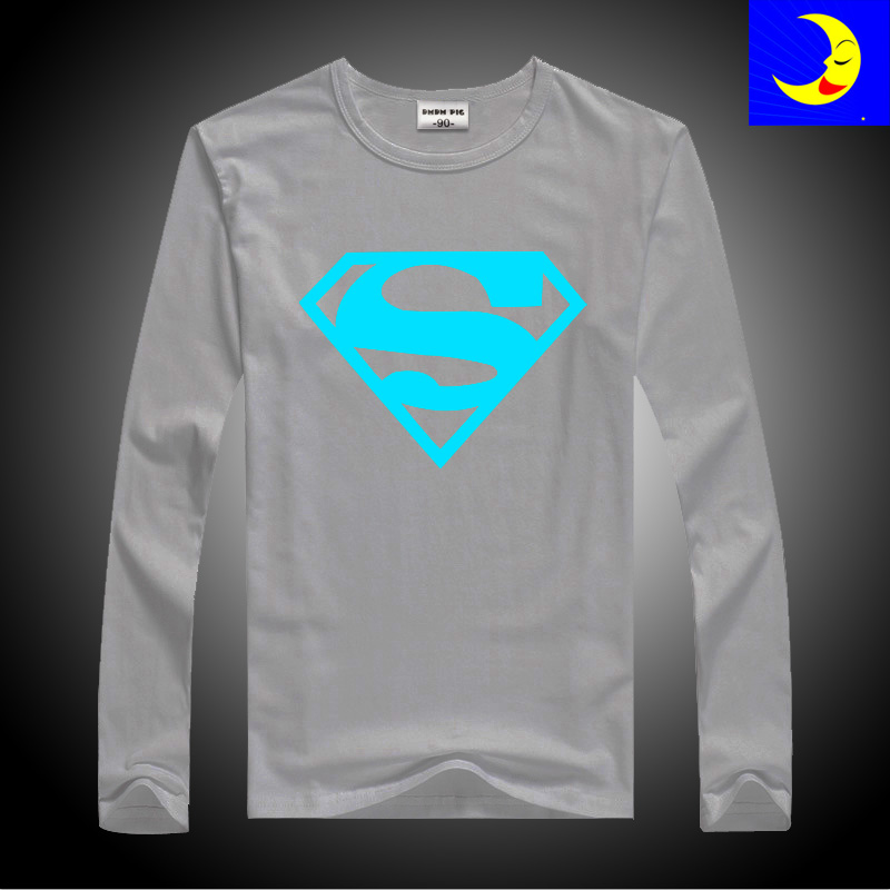 DMDM PIG Luminous T-Shirts For Girls Boys Long Sleeves Tops Kids Clothes Baby TShirt Children Toddler T Shirt 10 11 13 14 Years