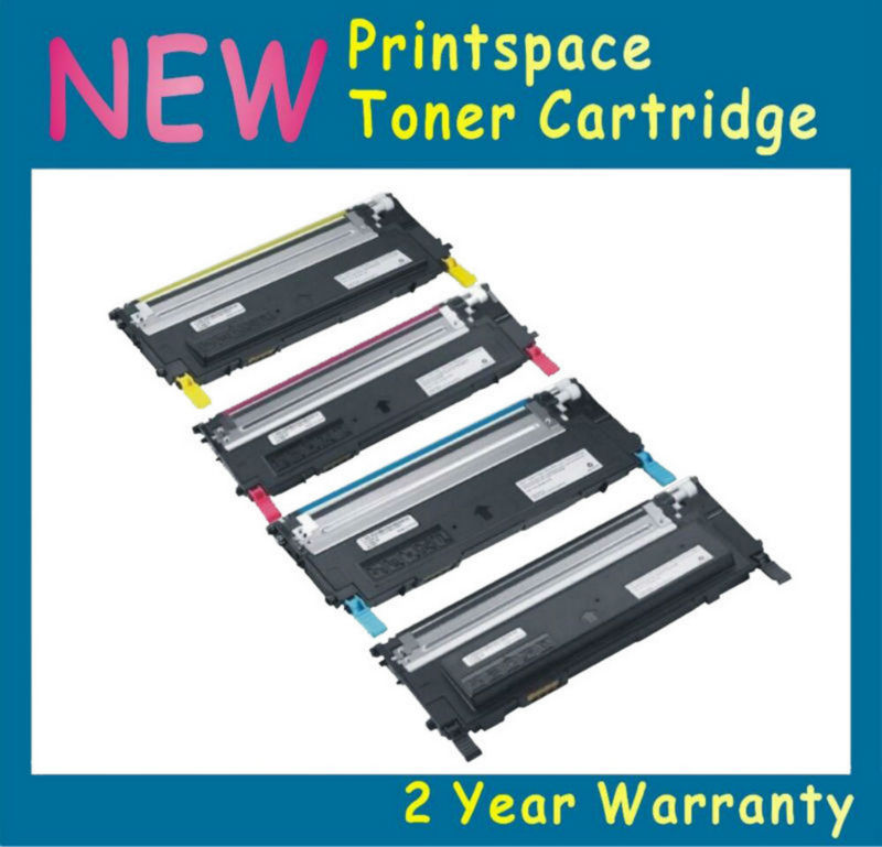 4x NON-OEM Toner Cartridge Compatible for Samsung XPRESS SL C410W C460 C460W C460FW CLT-K406S CLT-C406S CLT-M406S CLT-Y406S powder for samsung mltd 1192 s xil for samsung d1192s els for samsung mlt d119 s els color toner cartridge powder free shipping