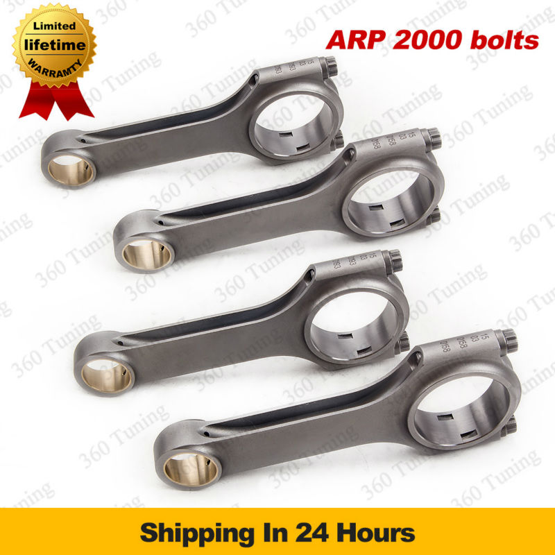 Aircraft Steel Connecting Rods for Opel CIH Engine 136.5mm Length Ascona Conrods