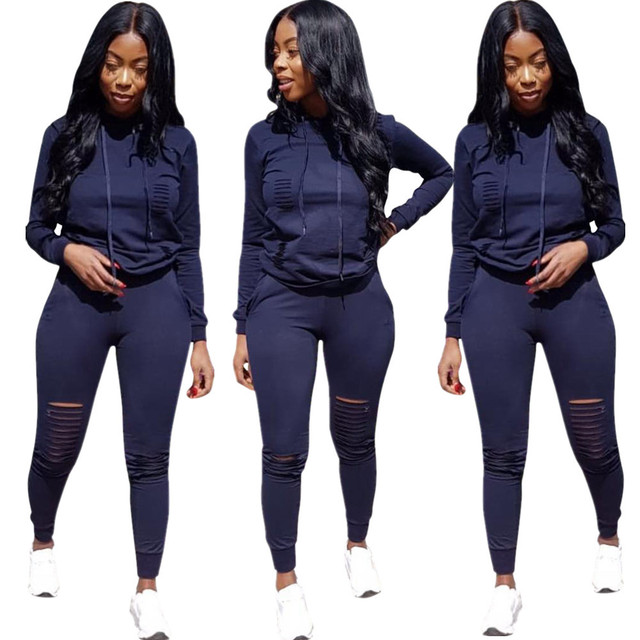 5a1cda180e2e Fashion style bodycon jumpsuit hooded two pieces overalls for women body  mujer plus size playsuit jpg