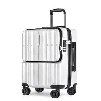 20 inch PC Computer Loptopr suitcase cabin travel box TAS LOCK carry on hand luggage on wheel