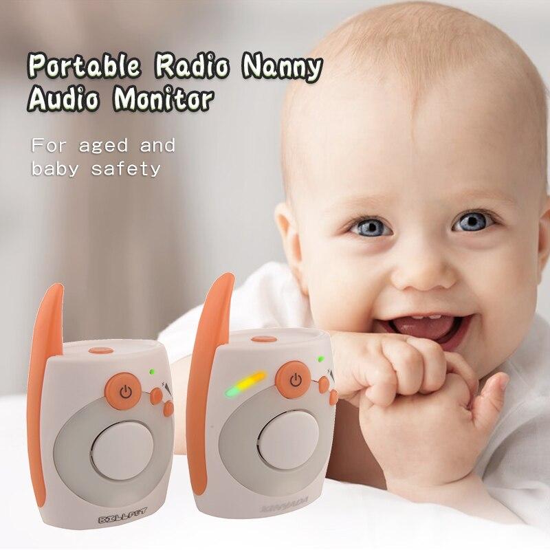 Portable Baby Intercom electronic nanny radios para bebe vigilancia para bebes vigila bebes babyphone audio Baby