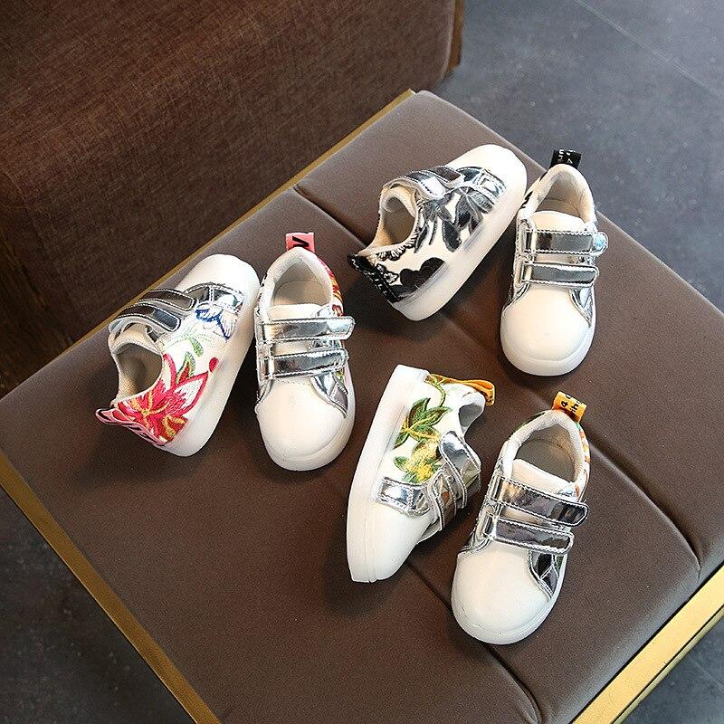 Boy & girl Led Children Shoes Luminous sneakers dla dziewcząt i - Obuwie dziecięce - Zdjęcie 5