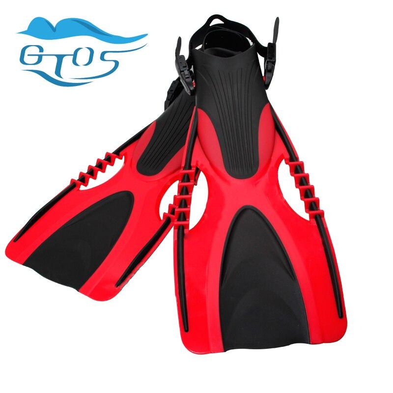 Rubber diving flippers for adult, rubber swimming fins,swim flipper equipment, scuba equipamento de mergulho diving equipment