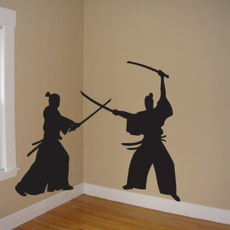Aliexpress.com : Buy Samurai Wall Decal Japan Ninja Poster Vinyl Art ...