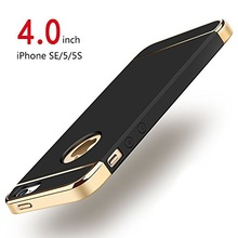 For iPhone 5s SE 5 Case Luxury Shockproof for Electroplate Hard Cover Matte
