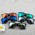 Vintage hombres mujeres gafas de sol UV400 gafas de sol Retro con espejo moda 5 colores femenino masculino gafas