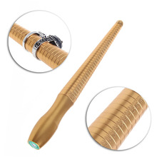 Smooth Copper Metal Ring Gauge Mandrel Sizer Measure Jewelry Stick Finger Tools S08 Drop ship