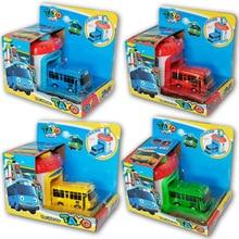 Mini Plastic Tayo Bus Korean Cartoon the Little Araba Oyuncak Garage Baby Car Toys Model for Kids Brinquedo