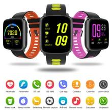 2017 gv68 bluetooth smart watch smartwatch impermeable soporte podómetro reloj para ios android sistema de pantalla delgada