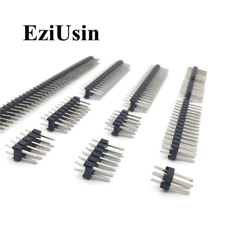 16 Way 2 Row Unshrouded Straight Pin Header 2.54mm X2