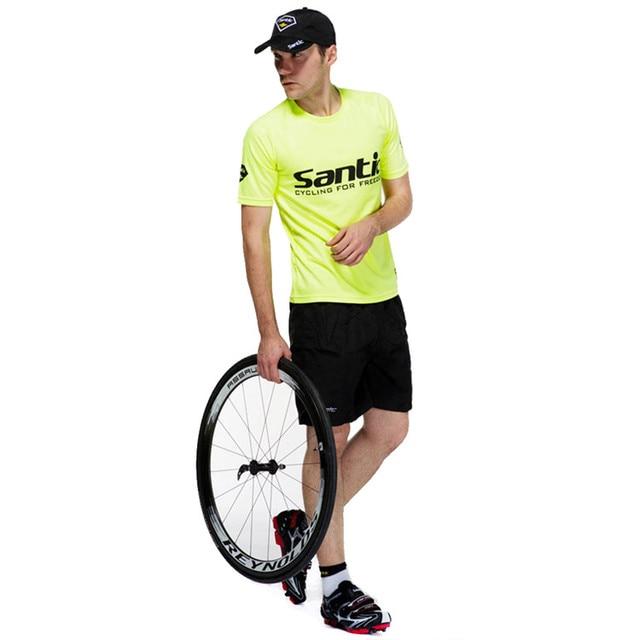 Santic Mtb Road Mountain Bike Leisure Baggy Loose Shorts Men S