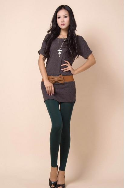50pcs/lot fedex fast free shipping Cotton Legging Women Casual Warm Winter Faux Velet Knitted Thick Slim Leggings Super Elastic