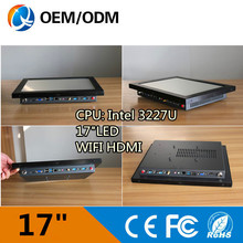 17″ industrial computer pc touch screen resolution 1280×1024 all in one pc with intel 3217U 1.9GHz 2GB RAM 32G SSD