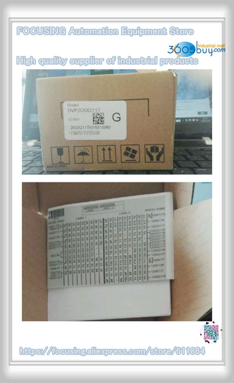 New DVP20SX211T original PLC Transistor NPN 4AI/2AO SX2 Series 24VDC Module k506ea 30at kinco plc cpu ac85 265v power supply 14di 4ai 10do 2ao transistor new original