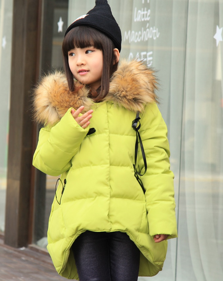 New autunm winter children s clothing outerwear parkas down jacket for girls kids s clothing high