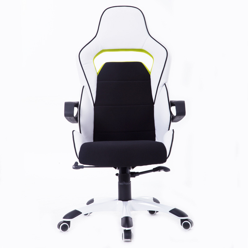 High quality electronic sports chair home office computer chair multifunctional WCG Internet game sports seat 240312 stereo thicker cushion household office chair high quality pu leather computer chair steel handrails