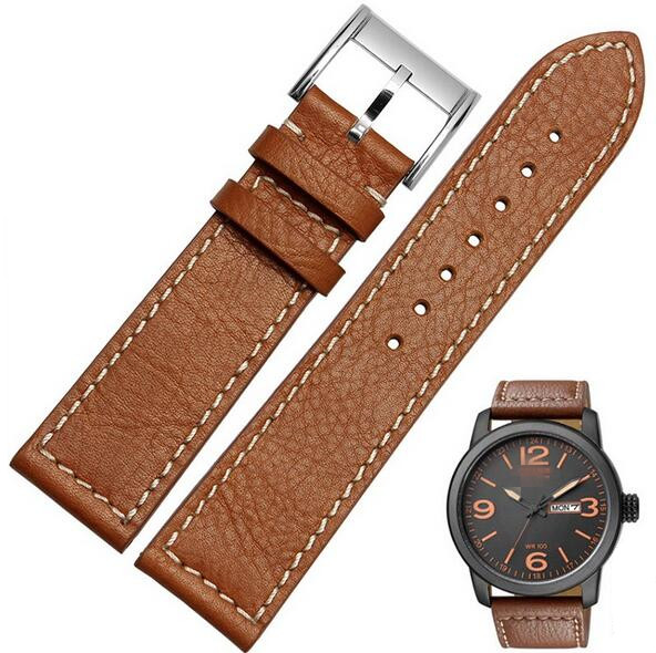 22mm Genuine Leather Watch Strap Bnad Watchband With Clacp Buckle For  Citizen For Pam Watch Replacement 368fa28c2