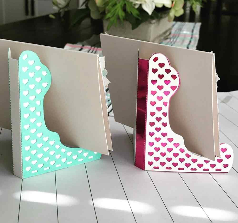 Card Stand Easel Design Metal Cutting Die For DIY Scrapbooking Album Paper MC