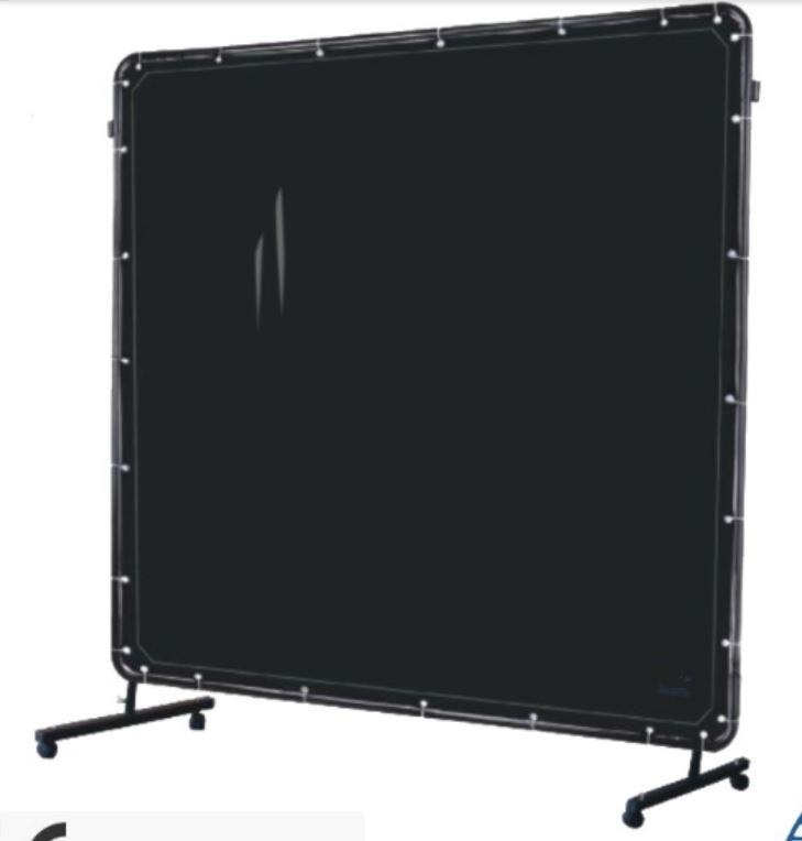 Здесь можно купить  Partition Welding Wall Protective Curtain Screen Transmission Vinyl UV Resistant Flame Retardant 0.4mm 1.74*1.74M EN1598 Black  Инструменты