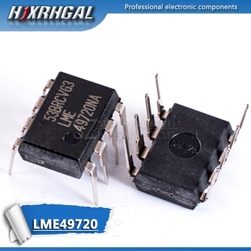 2PCS LME49720NA DIP8 LME49720 DIP-8 49720NA DIP LME49720N HJXRHGAL