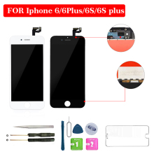 цена на 4.7 inch 5.5 inch For iphone 6 LCD 6P 6S 6SP LCD Display Touch Screen No Dead Pixel Digitizer Assembly Replacement Screen