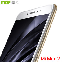 xiaomi mi max 2 glass full cover Mofi screen protector xiaomi xioami mi max 2 film protector xiaomi mi max2 glass