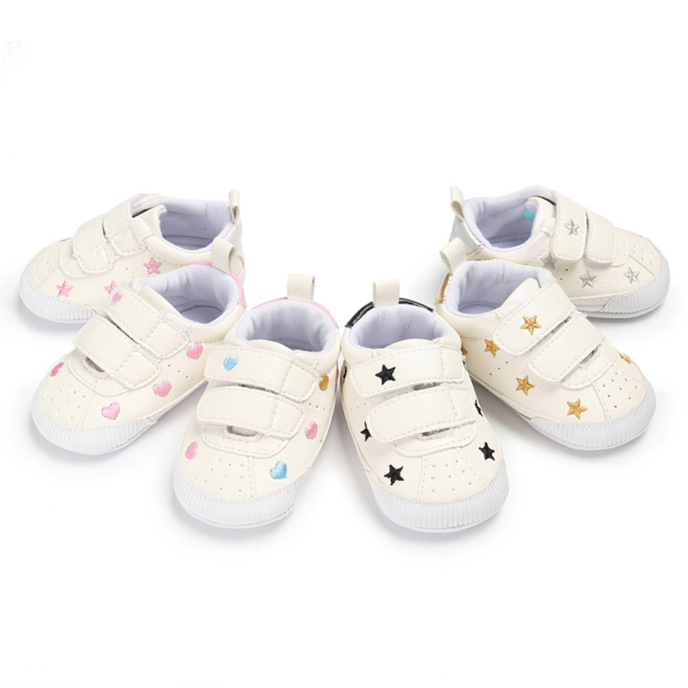 Soft Bottom Fashion Sneakers Baby Boys Girls First Walkers Cute Baby Indoor Non-slop Toddler Casual Shoes Footwear Sport Shoes