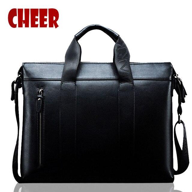 Homens bolsa de ombro pu saco do mensageiro da bolsa sacos maleta homens carteiras carteiras para adolescentes marca laptop bag Handy para adolescentes B