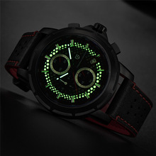 2018 Men Watch PAGANI DESIGN Top Brand Chronograph Quartz Mens Leather Watches Military Luxury Luminous Dial Relogio Masculino