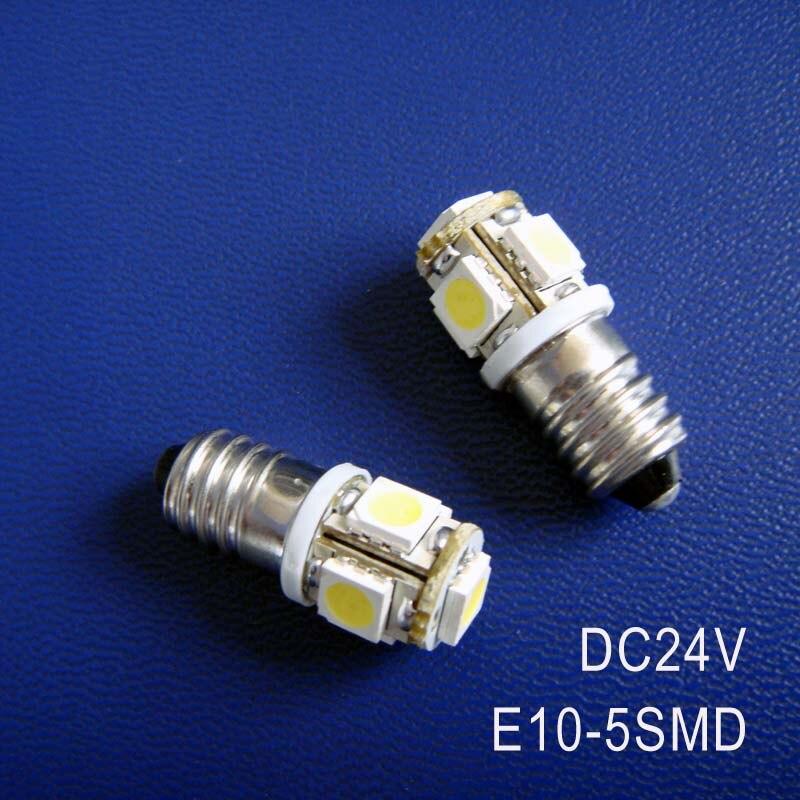 High quality DC24V 1W <font><b>E10</b></font> <font><b>led</b></font> dashboard warning indicator,<font><b>led</b></font> instrument light,<font><b>E10</b></font> <font><b>LED</b></font> Lamp Bulb Lights free shipping 10pcs/lot