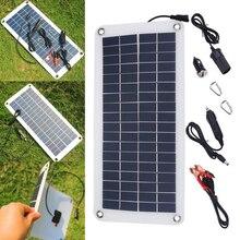 ФОТО multi-function 18v 10.5w polycrystalline solar panel charger sunpower solar panel charger for cellphone car boat battery