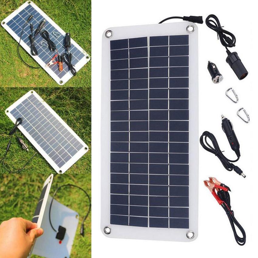 Multi-Function 18V 10.5W Polycrystalline Solar Panel Charger Sunpower Solar Panel Charger For Cellphone Car Boat Battery
