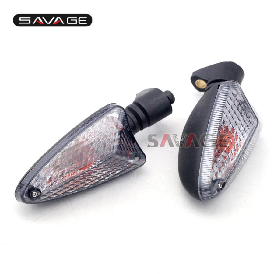 For Triumph Speed Triple 1050/R, Street Triple 675/R Motocycle Front/Rear Blinker Turn Signal Light Indicator Lamp Smoke