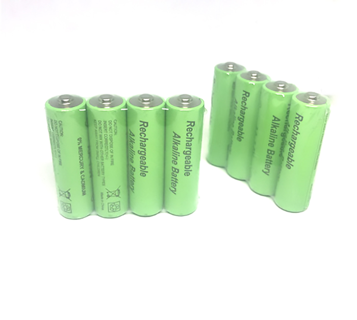 Cncool 8pcs/lot New Brand AA rechargeable battery 3000mah 1.5V New Alkaline Rechargeable batery for led light toy mp3