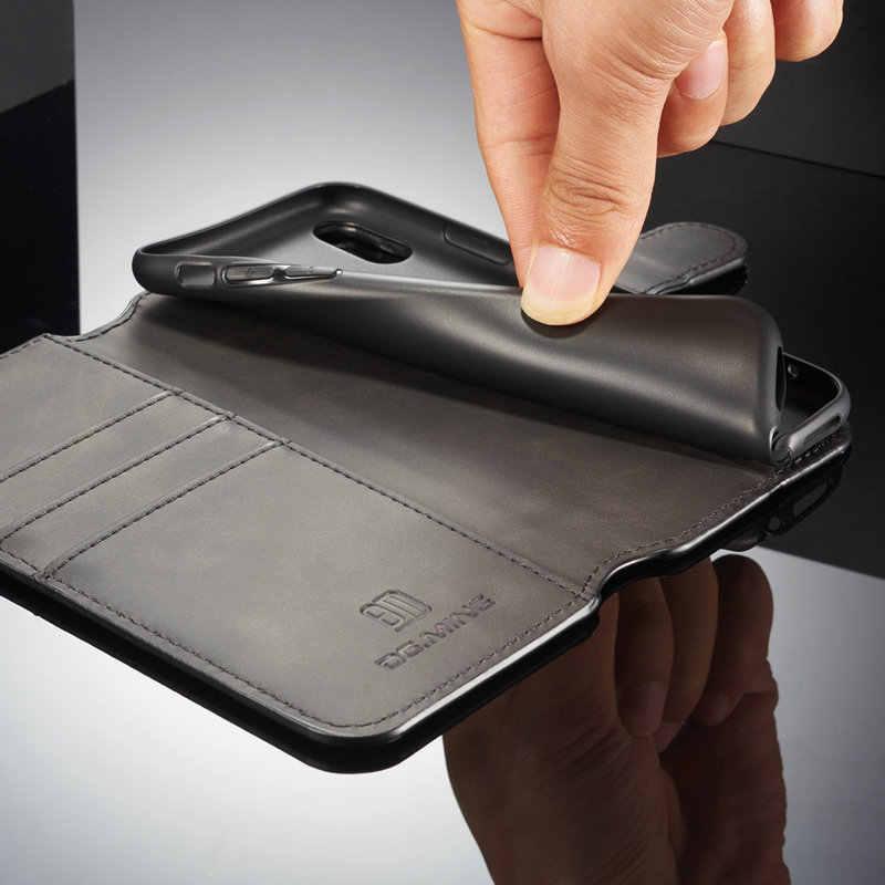 CaseMe чехол для iPhone XS Max Ретро кредитной карты, деньги, Слот Флип Чехлы для iPhone 6 6S 7 8 плюс Hoesje для iPhone X XR XS