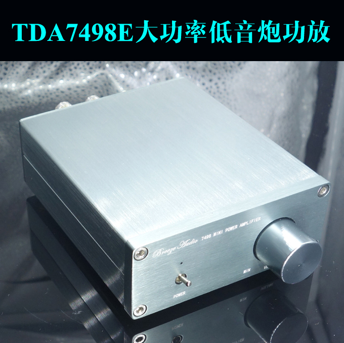 цена на Finished B100 TDA7498E Digital Amplifier High-power Subwoofer Power Amplifier / Full Frequency Amplifier Audio
