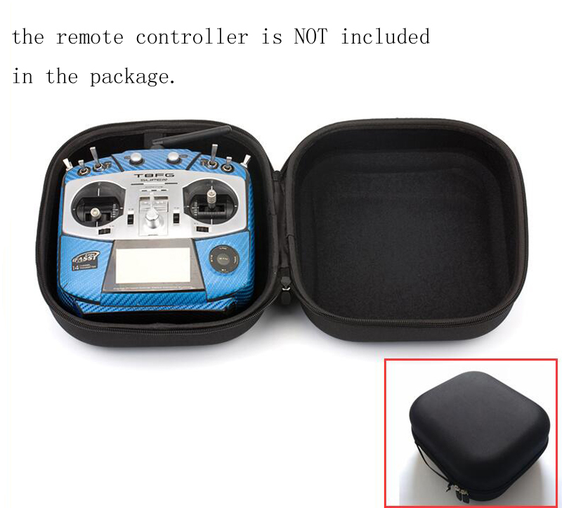 1pcs Remote Control FUTABA t14s JR Storage Bag X9D T8FG Handheld Outdoor Carrying Box Water Proof Protective Storage Suit Case