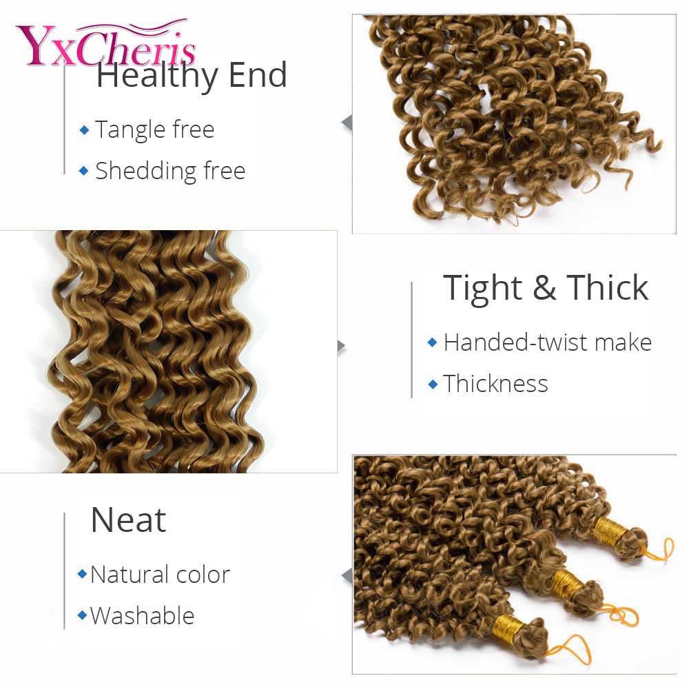 s-noilite-14-Inches-100-Real-Natural-Hair-Extension-Water-Wave-Ombre-Crochet-Braids-Synthetic-Braiding
