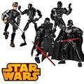 ZXS star wars Rogue Uno K-2SO Muerte Trooper Sargento Jyn Lepin Erso Figura bloques de construcción de juguetes regalos de navidad