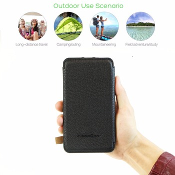 Phone Charger 10000mAh Solar Phone Charger Power Bank Dual USB for iPhone 4s 5 5s SE 6 6s 7 7plus iPad Samsung s7 s8 HTC LG Sony 6