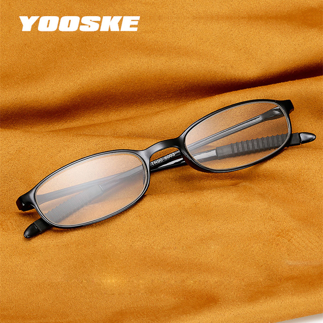 Men's Women's Reading Glasses Female Readers TR90 Frame Ultralight Presbyopic Reading Eyeglasses 1.0 1.5 2.0 2.5 3.0 3.5 4.0