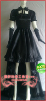 Pandora Hearts alice Cosplay costume black and red dress can choose