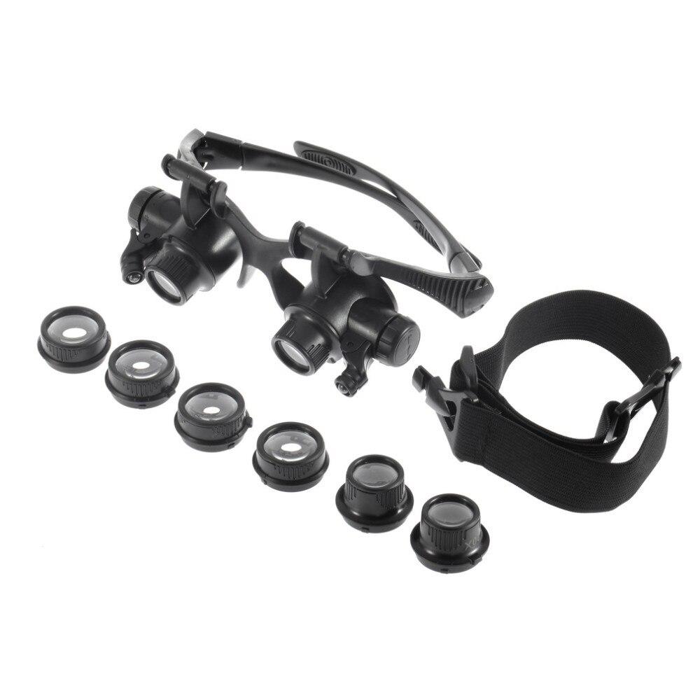 1 x Óculos Lupa 1 x Headband 6 xLentes intercambiáveis (3 Pares) 1 x manual  Do Usuário (Inglês   Chinês) a438f21b96