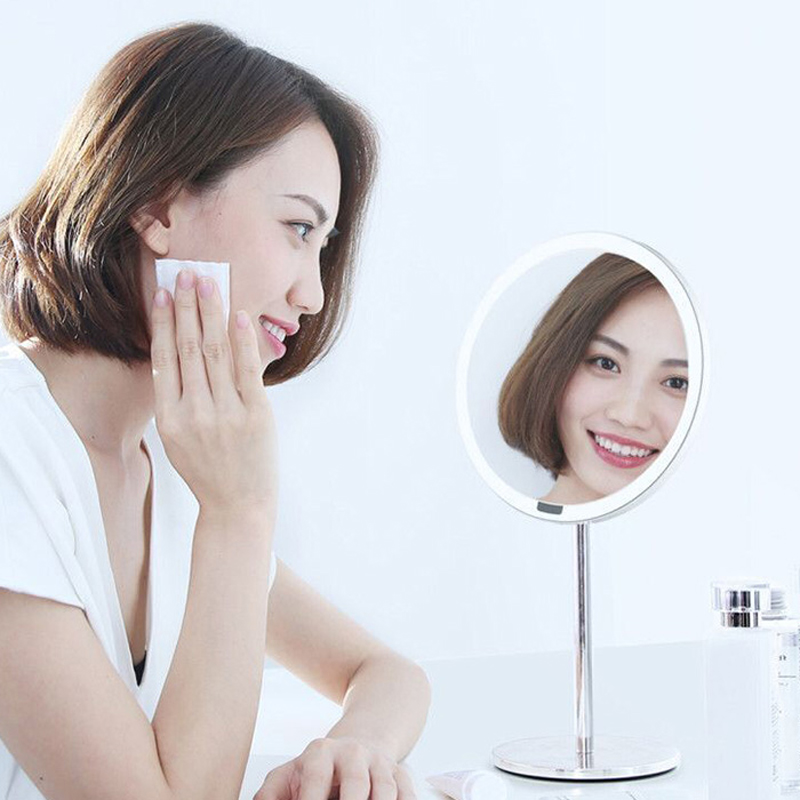 Xiaomi Yeelight Night Lights Portable LED Makeup Mirror With Metal Base Light For Table Decoration