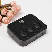 New Arrival Black Bluetooth Share Control With Three Functions To Listen To The Voice Switch Mode